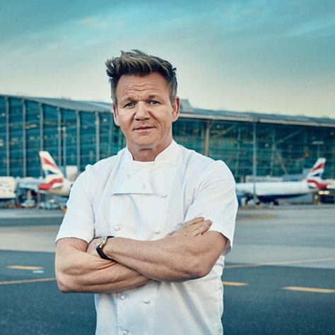 Gordon Ramsay </br> 4.4 Million Followers